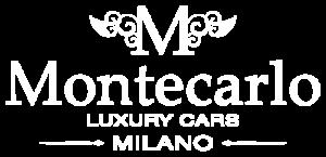 Montecarlo Luxury Cars Logo White